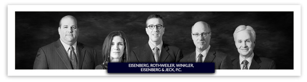 Eisenberg, Rothweiler, Winkler, Eisenberg & Jeck, P.C. personal injury lawyers handling catastrophically injury cases in Philadelphia, New Jersey and throughout the country