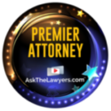 AskTheLawyers.com Premier Attorney Badge